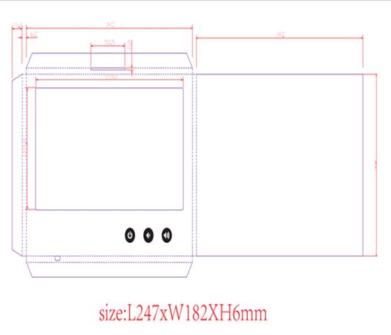 10 inch Skabelon PDF