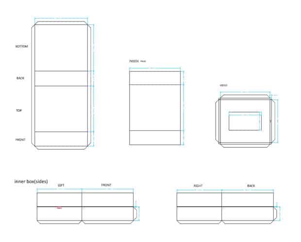 Produkt Video Præsentation Boxes Skabelon