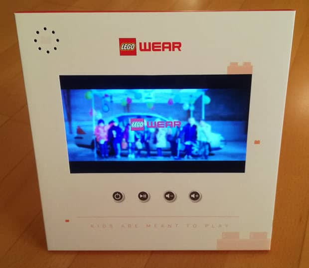 Video Display Lego