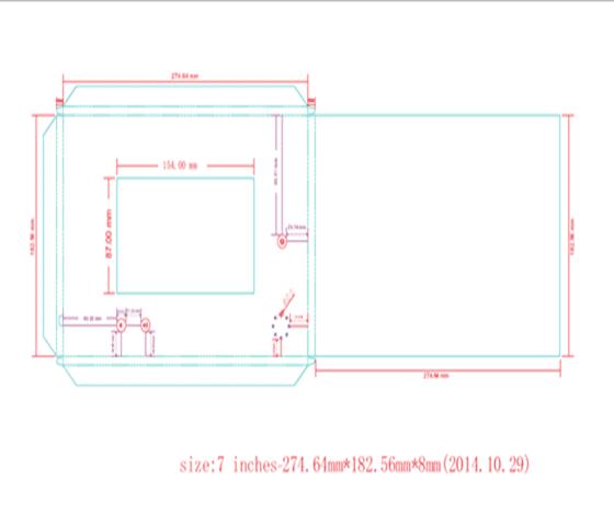 7 inch Skabelon PDF